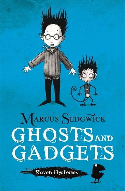 Uk cover of Ghosts and Gadgets showing Cudweed and Fellah.