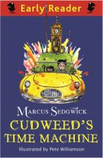 Cover of Cudweed's Time Machine showing the time machine.