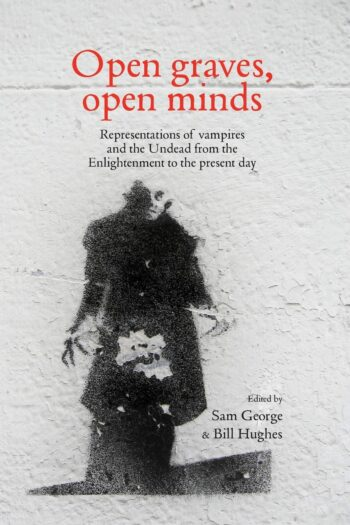 Cover of Open Graves Open Minds showing Max Schreck as Count Orlok